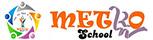 Logo Metro School Makassar